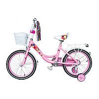 Велосипед детский  Spark Kids Follower 18 дюймов колеса. От 6-8 лет.