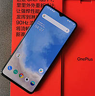 "OnePlus 7T 8/256 Гб Glacier Blue (Синий) экран 6,55"" FHD+ 90 Гц, Snapdragon™855 Plus Лучший смартфон OnePlus"