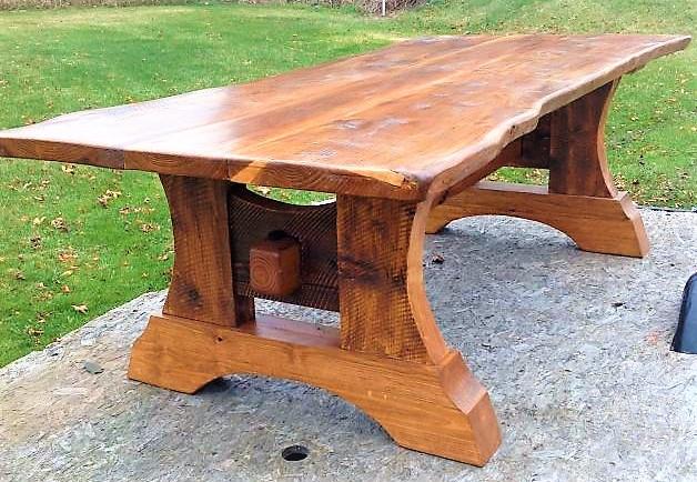 Фото садовой мебели ручной работы под старину