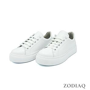 Кеды женские кожаные белые весна - t2163-0 ZodiaQ