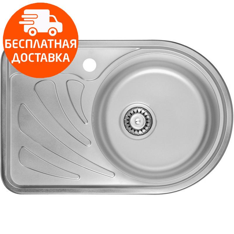 Кухонная мойка ULA HB 7111 ZS Polish 08 R нержавеющая сталь