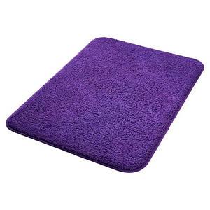 Коврик для ванны комнаты 50х80 см Bisk Plum 02855 фиолетовый