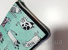 Экосумка с карманом складывающаяся в кошелек расцветки микс, фото 2