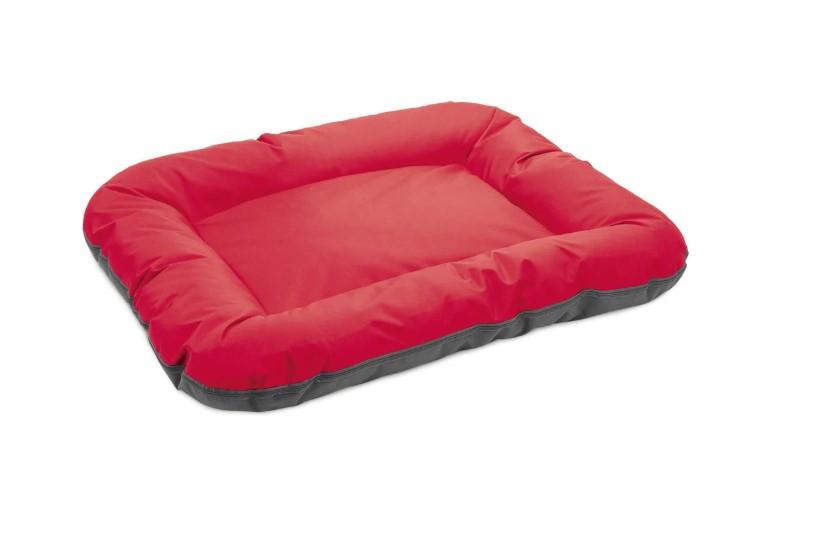Лежак Аскольд 5 червоно-сірий ТМ Природа 102х76х14см