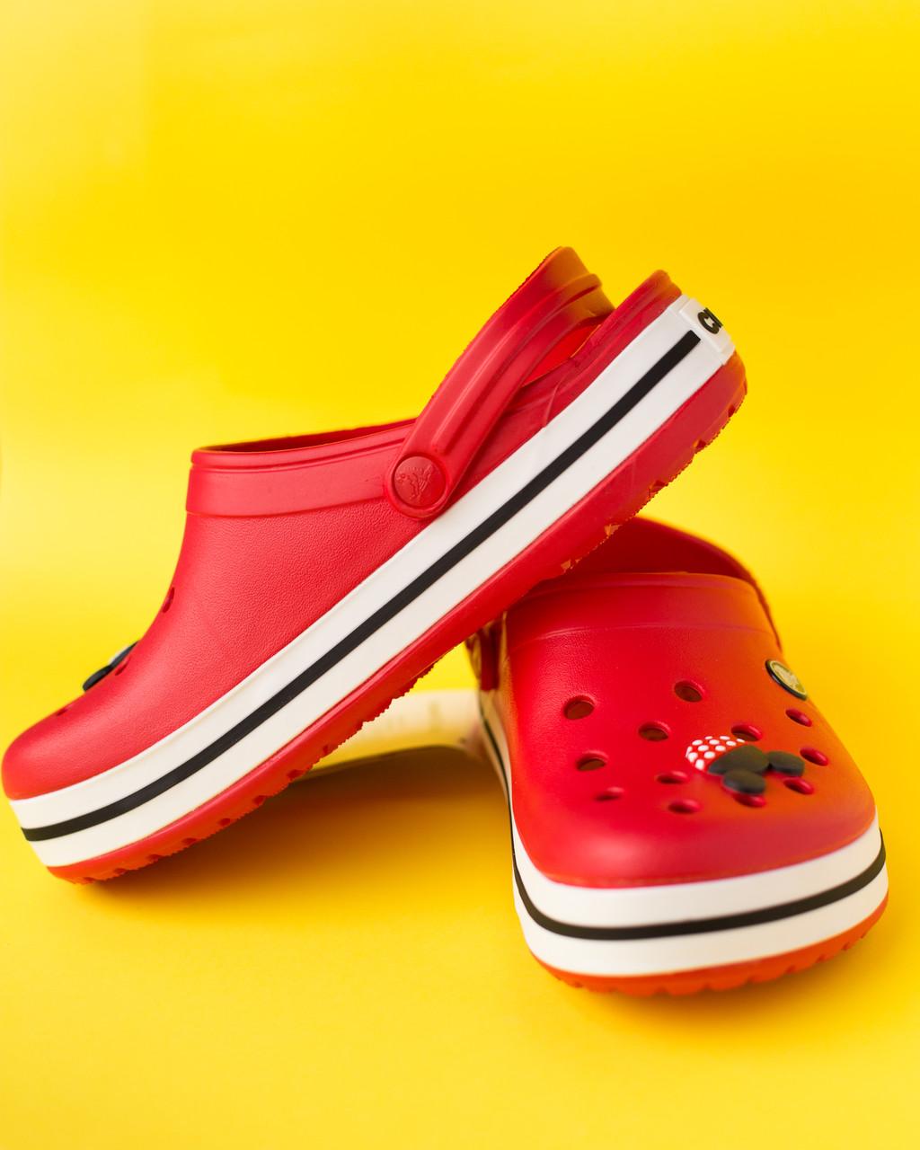 """Крокси червоні """"Сrocsband"""""""