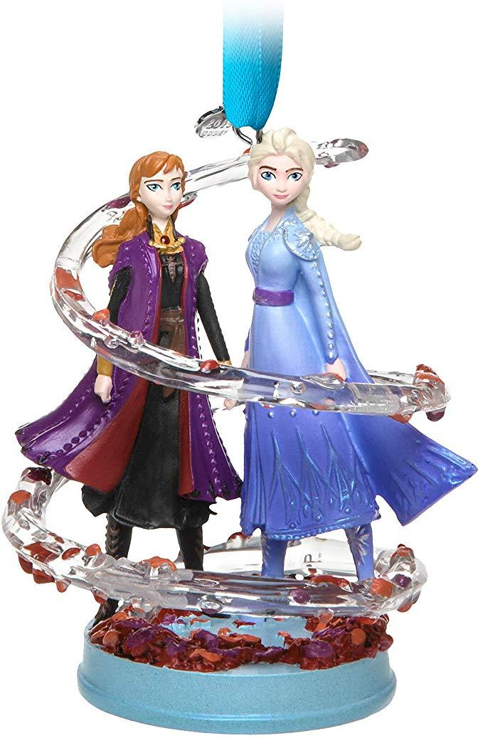 Елочная игрушка Дисней Анна и Эльза Холодное сердце