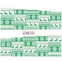 Слайдер-дизайн для ногтей BN-241  6.2*5.2 см