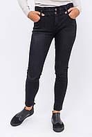Re-Dress Узкие джинсы на широкой резинке - черный цвет, L (40)