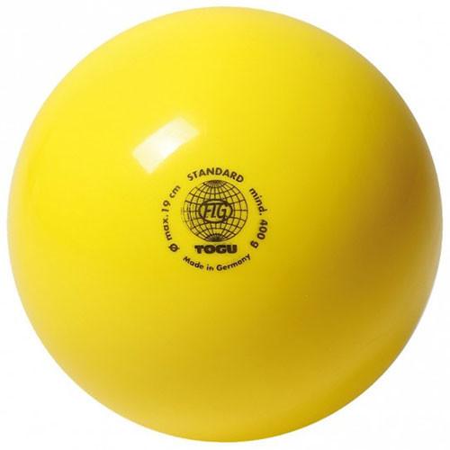 Мяч гимнастический лак Togu 400гр. желтый