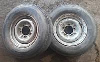 Диски колесные Волга + шины камеры пара 2шт R14