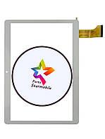 Сенсор (Тачскрин) для планшета  Pixus Ride 4G  (156*222),Белый
