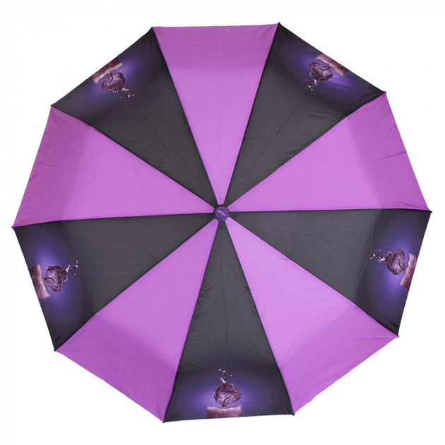 Зонт складной de esse полуавтомат фиолетовый со свечой