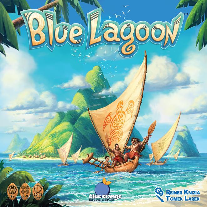 Настольная игра Blue Lagoon (Голубая лагуна) с русскими правилами