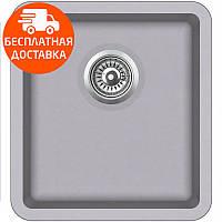 Мойка для кухни гранитная Aquasanita Arca SQA-101W-202 алюметалик