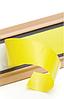Пристеночный профиль REHAU 617185-021 104 c клеевой лентой 5000 мм WAP 104 коричневый