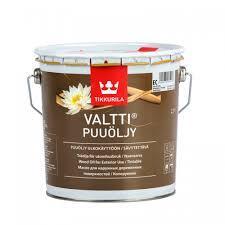 Атмосферостойкое масло для древесины Tikkurila Valti Oil 2.7 л