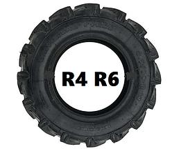Резина для мотоблока R 4 R 6