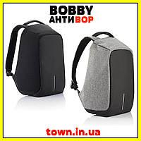 Городской рюкзак Bobby антивор под ноутбук с USB / водоотталкивающий, фото 1