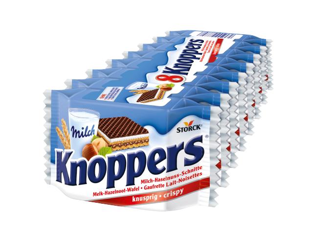 Вафли Knoppers 10 штук 250 г