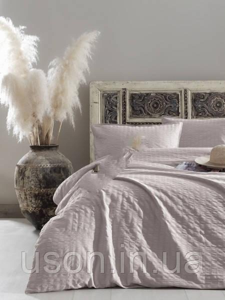 Комплект постельного белья из сатина размер евро LIMASSO PRISTINE VOGUE