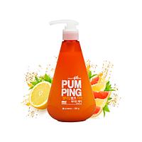 Зубная паста с дозатором Perioe LG  Pum Ping Сitrus (цитрус) , 285 мл