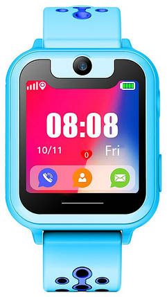 Smart Watch SK-008/MT-01/MT-02 GSM/GPS/камера/IP64 light blue Гарантия 1 месяц, фото 2