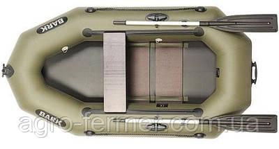 Одноместная надувная гребная лодка Bark-220CD