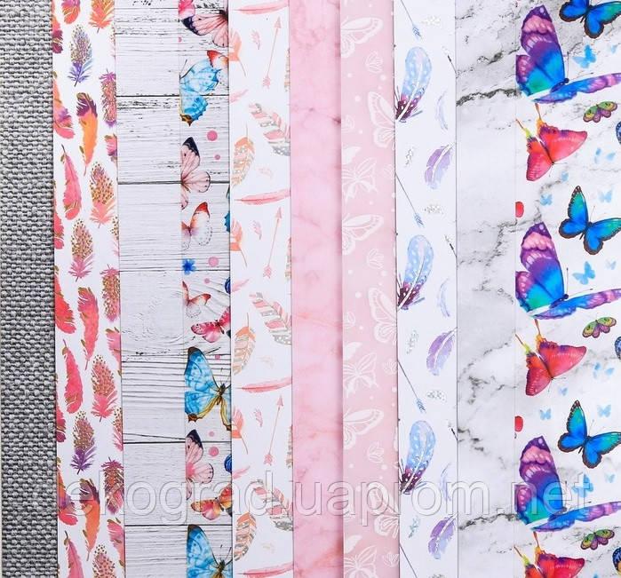 Набор бумаги для скрапбукинга «Воздушное настроение», 10 листов, 30.5 × 30.5 см