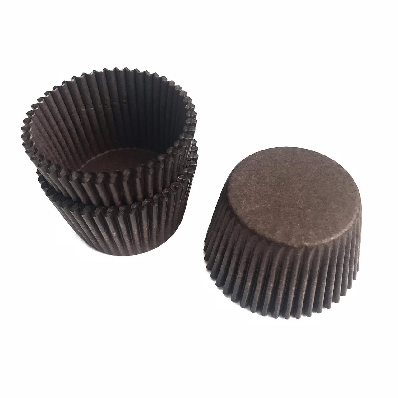 Тарталетки паперові коричневі (100шт/уп)
