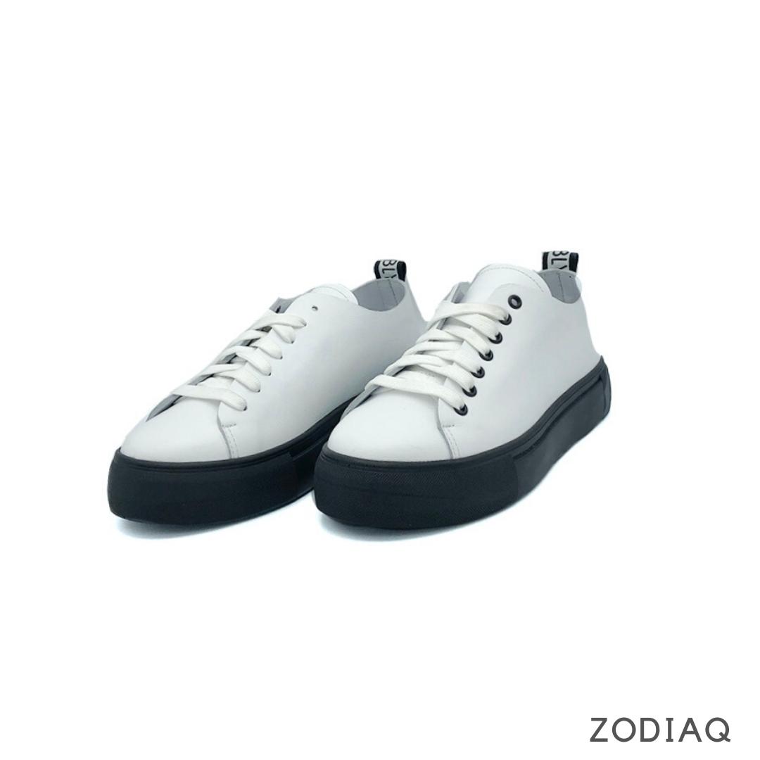 Кеды женские кожаные белые весна - t2164-0