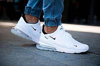 Кроссовки Nike Air Max 270 Белые White / Nike Airmax 270.