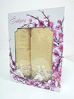 Набор полотенец Sakura  (банное и лицевое)