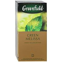 Чай Гринфилд, Грин Мелисса , зеленый, 25 пакетиков
