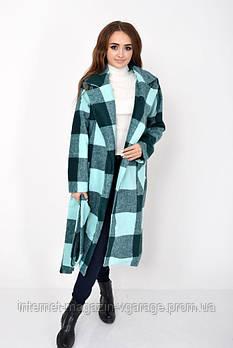 Пальто женское 104R008 цвет Зеленый