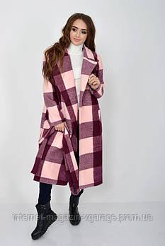 Пальто женское 104R008 цвет Бордо