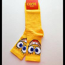 Носки женские желтые Спанч Боб 36-40 размер
