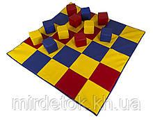 Мат-коврик Кубики 120-120-3 см Тia-sport