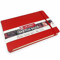 Скетчбук для графики Royal Talens Art Creation 140 г/м, 14,8х21 см, 80 л, красный (9314205M)
