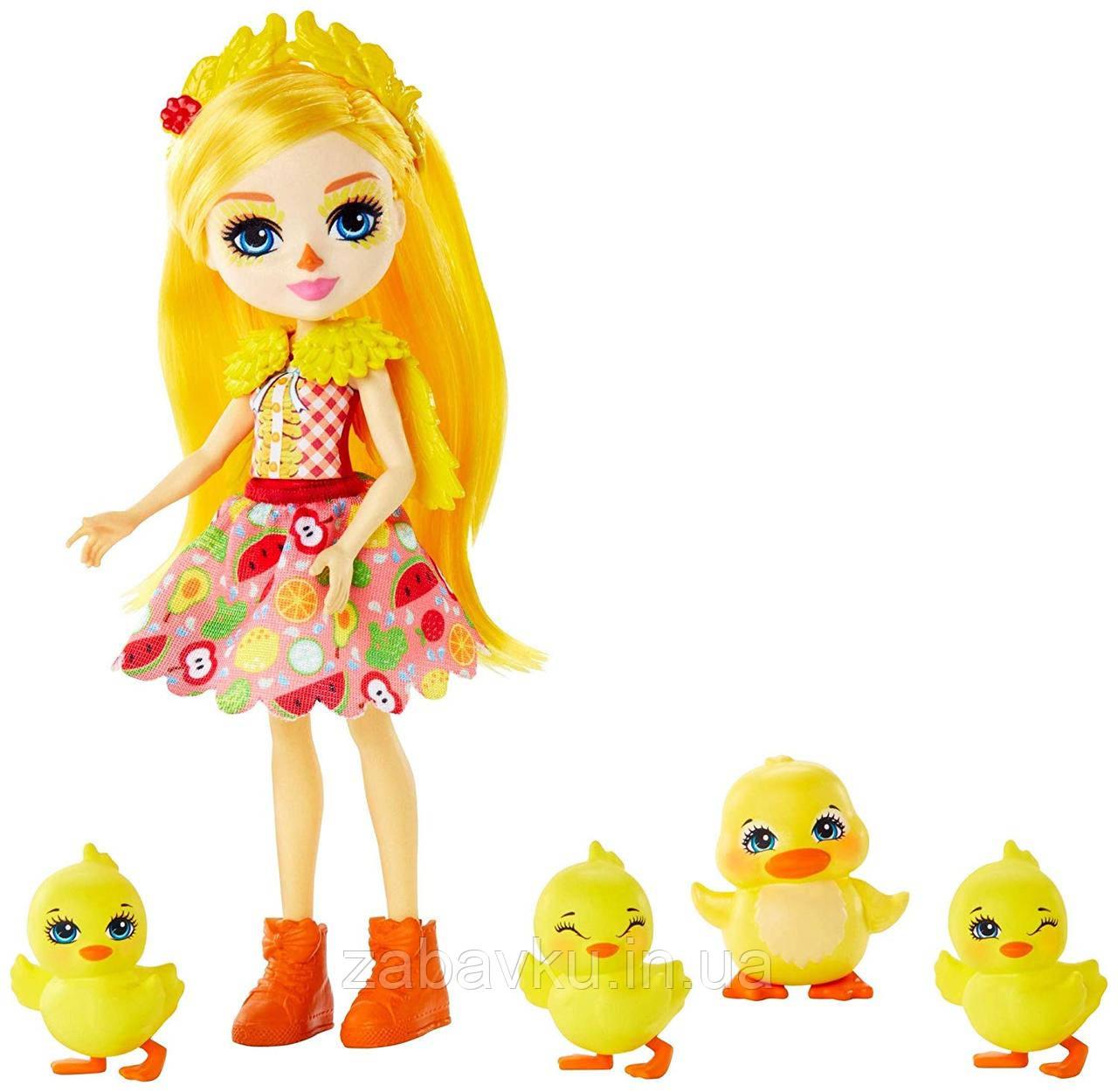 Лялька Енчантімалс Качка Enchantimals Dinah Duck Doll оригінал Кукла энчантималс уточка