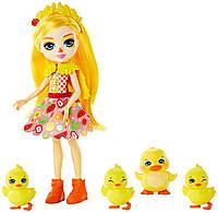 Лялька Енчантімалс Качка Enchantimals Dinah Duck Doll оригінал Кукла энчантималс уточка, фото 1