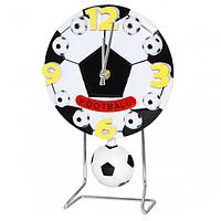 """Годинник настільні з маятником """"Футбольний м'яч"""" (26*17*6 див.)"""