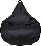 Кресло груша Оксфорд Черный, фото 2