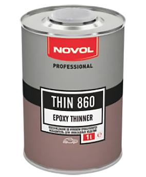 Растворитель для эпоксидного грунта Novol Thin 860, 1 л