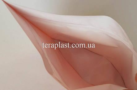 Дой-Пак 300г оранжевый 200х190х36 зип с тактильным лаком Soft-touch, фото 2