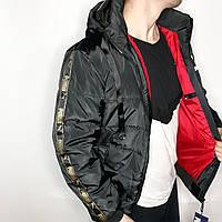 Куртка мужская демисезонная черная Puma