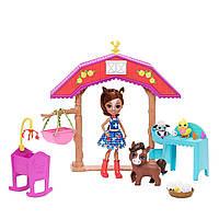 Набір Енчантімалс Коник на фермі Enchantimals Barnyard Nursery Haydie Horse, фото 1