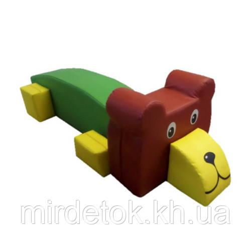 Мягкий игровой модуль Медведь