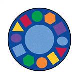 Мат учебный Геометрия круглый, фото 2