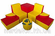 Комплект игровой мебели Динозавр