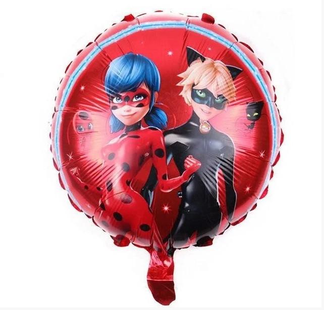 """Фольгована кулька коло дівчина супергерой 18"""" Китай"""